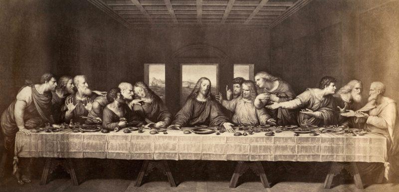 Leonardo da Vinci, A Última Ceia.