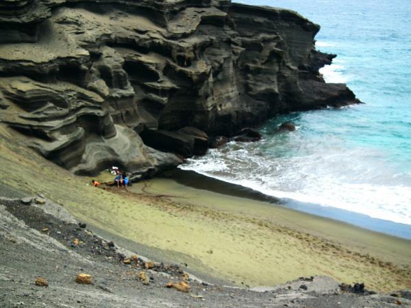Praias estranhas